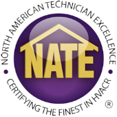 For your Air Conditioner repair in Grapevine TX, trust a NATE certified contractor.